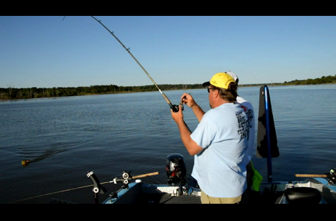 Trolling For Catfish on Truman Reservoir