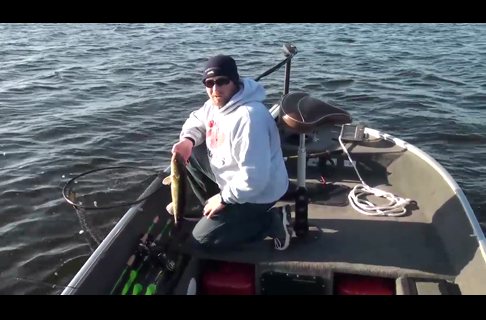 Zip Jigging For Walleyes