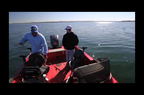 Rigging for Walleye on Fort Peck