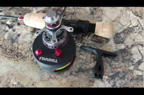 Frabill Straight Line 371 Ice Reel Features