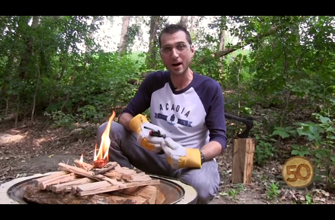 Why Build an Upside Down Campfire?