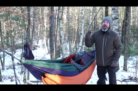 Winter Hammocking in Really Cold Weather