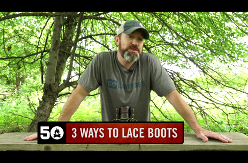 3 Ways to Lace Hiking Boots to Relieve Foot Pain