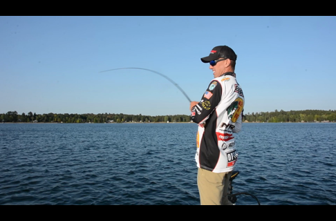 Evers' Tip: Keep Jerkbait Tied on Year-Round