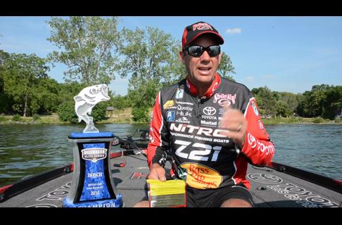 How Kevin VanDam Won Cayuga Lake
