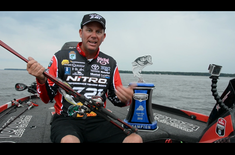 How Kevin VanDam Won Toledo Bend